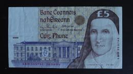 Ireland - 5 Pound - 1994 - P 75a - VF - Look Scan - Irland