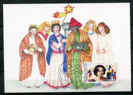 "Germany 1996 Maxicart Kinder,Kids Mi.Nr.1834 ""150 Jahre Kindermissionswerk In Deutschland "" 1 MK Used - Maximum Cards"