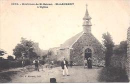 ST LAURENT - Environs De St Brieuc - L' Eglise - France
