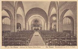 La Panne - Intérieur De L'Eglise  Notre -Dame. - De Panne