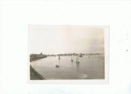 SABLES D'OLONNE --Photo Argentique --l'entrée Du Port - Lieux