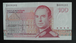 Luxembourg - 100 Francs - 1986 - P 58a - XF+ - Look Scan - Lussemburgo