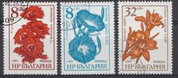 BULGARIEN / BULGARIJE MI.NR.3489-3491  USED / GEBRUIKT / OBLITERE 1986 - Gebruikt