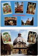 2 CP De Scherpenheuvel - Montaigu - La Basilique + 6 Vues - Scherpenheuvel-Zichem