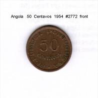 ANGOLA    50  CENTAVOS  1954  (KM # 75) - Angola