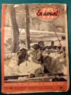 En Avant! FFI - N°18 Janvier 1945 - Hebdo Des Forces Françaises De L´interieur Du Sud-est - Original - Revues & Journaux