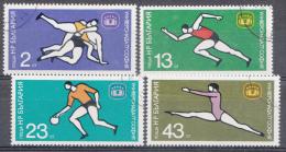 BULGARIEN / BULGARIJE MI.NR.2586-2589  USED / GEBRUIKT / OBLITERE 1977 - Bulgarien