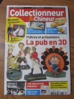 COLLECTIONNEUR & CHINEUR N° 093 - 3 DECEMBRE 2010 - MICHAEL JACKSON / PUB EN 3D / RESTAURER UNE DINKY TOYS / MISS DIOR - Brocantes & Collections