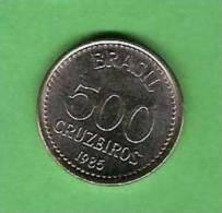 K561 Brasil 500 Cruzeiros 1985  () - Brasile