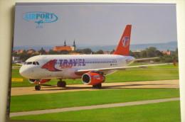 AIRPORT/ AEROPORT/ FLUGHAFEN     BRNO AIRPORT    A 320   TRAVEL SERVICE - Aerodromes