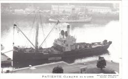 Batiment Militaire + Equipage Marine Nationale Patiente Gabare 31-5-1968  Marius Bar - Guerra