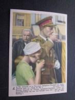 Juil 1938 Léopold Princesse Joséphine-Charlotte Chromo -image:Chocolat Belge Côte-d'Or:série Enfants Royaux De Belgique - Côte D'Or