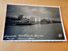 Carte Postale Photo : RECIFE : Avenida Martins De Barros - Recife