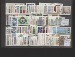 BRD / Bund **  Jahrgänge 1987, 1988   Komplett Nach Michelkatalog Wert 130,00  Euro - Unused Stamps