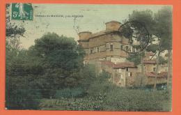 HB528, Château De Margon Près Roujan, Circulée 1910 - Altri Comuni