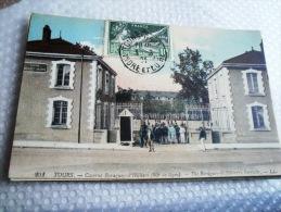 37 - TOURS - 201 - CASERNE BARAGEY-D'HILLIERS (66e DE LIGNE) - CPA ECRITE 1924 - Tours