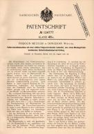 Original Patentschrift - F. Metzger In Donzdorf I. Württbg., 1900 , Futterschneidemaschine , Landwirtschaft , Tierzucht - Maschinen