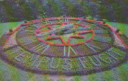 Canada Quebec Montreal Floral Clock Westmount Park