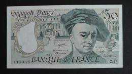 France - 50 Francs - 1985 - P 152b - Unc - Look Scan - 1962-1997 ''Francs''