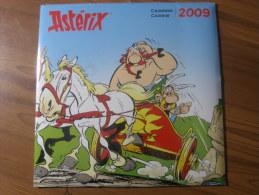 ASTERIX - CALENDRIER 2009 - 30x30cm - JNF PRODUCTIONS - Astérix