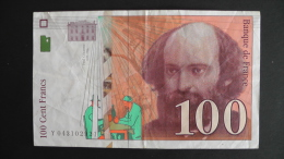 France - 100 Francs - 1998 - P 158a - VF - Look Scan - 1992-2000 Aktuelle Serie