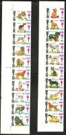 O) 1987 MEXICO, DIFFERENT RACES-DOGS, SET MNH. - Mexico