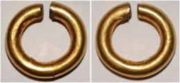 Celtic British Isles Gold Ring Money - Gauloises