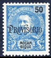 !■■■■■ds■■ Mozambique 1902 AF#92* Overprint Provisorio 50 Réis (x3958) - Mosambik