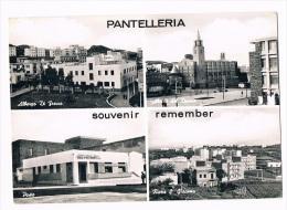 B1312 - Pantelleria - Albergo Di Fresco - Duomo - Rione S.Giacomo - Poste - Italia