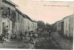 Carte Postale Ancienne De LES CHAMPYS - Francia