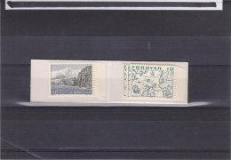 Bateaux - Abeilles - Carte  - Féroé - Carnet 1 De 1975 ** - MNH - Féroé (Iles)