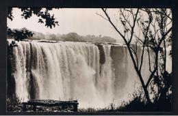 RB 946 - Rhodesia Zambia Zimbabwe - Real Photo Postcard - Victoria Falls - View Of Main Falls From Rain Forest - Zimbabwe