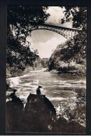 RB 946 - Rhodesia Zambia Zimbabwe - Real Photo Postcard - Victoria Falls - The Bridge & Boiling Pot - Zimbabwe