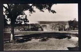 RB 946 - Rhodesia Zambia Zimbabwe - Real Photo Postcard - Victoria Falls - View From Hotel Verandah - Zimbabwe