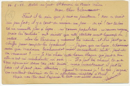 St Honoré Les Bains 1933 Toubib Medecins Conseillant Les Parisiens Pour Les Eaux Sainte Barbe Pompier Andouille - Andere Gemeenten
