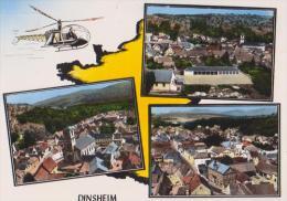 EN HELICOPTERE AU DESSUS DE DINSHEIM - ECRITE EN 1967 - 15 CM X 10 CM - 2 SCANS - - Non Classés