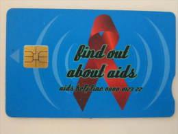 Chip Phonecard,help AIDS,used - Afrique Du Sud
