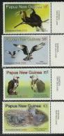 Png0802co Papua New Guinea 2008 Birds 4v Pigeon Eagle Hombill - Papua New Guinea