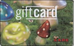 Deutschland Giftcard Geschenkkarte KARE Pilze Mushrom - Cartes Cadeaux