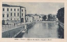 TREVISO  - RIVIERA GARIBALDI E OSPEDALE CIVILE VG 1932  AUTENTICA 100% - Treviso