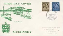 FDC Guernsey 1968 - Guernsey