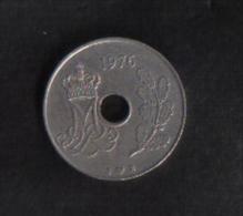 DANMARK -  25 Ora  1976 - Denmark