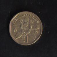 SINGAPORE  - 1 DOLLAR  1989 - Singapore
