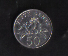 SINGAPORE  - 50 CENTS  1995 - Singapore