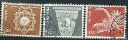 Svizzera 1973 Usato - Mi.991/3  Yv.918/20 - Usati