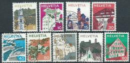 Svizzera 1973 Usato - Mi.1003/5;1007/12  Yv.933/5;937/42  9v Non Completa - Usati