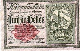 50 HELLER XF AUNC AUSTRIA 1920 - Autriche