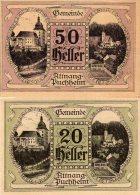 50 & 20 HELLER XF AUNC AUSTRIA 1920 - Autriche