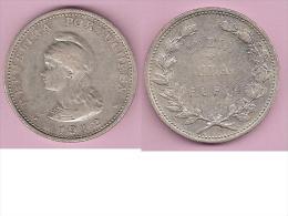 *portuguese India 1 Rupia 1912/11   (12 Over 11 !!!!) Km 18 Rare Coin ,look - Inde