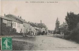 Carte Postale Ancienne De POURRU AUX BOIS - France